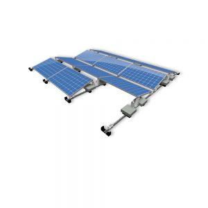 Van der Valk Producten bij Solartoday - Fotovoltage - verbindings- en bevestigingselementen - Alu achter voet ValkPro+ L15° midden