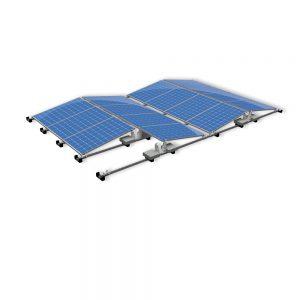Van der Valk Producten bij Solartoday - Fotovoltage - verbindings- en bevestigingselementen - Verz achterplaat ValkPro+ P10° L=1160mm